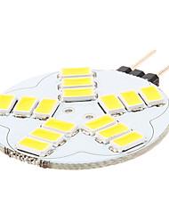 4W G4 LED Doppel-Pin Leuchten 15 SMD 5730 180-320 lm Warmes Weiß / Natürliches Weiß AC 12 V