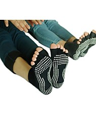 Non-Slip Peep-Toe Yoga Socks