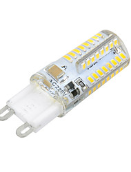 cheap -3W G9 LED Corn Lights T 64 leds SMD 3014 Warm White Cold White 270lm 3000-3500K AC 220-240V