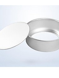 Bakeware High Quality Aluminum Chiffon Cake Baking Molds (6inch)