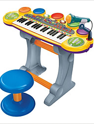 Недорогие -canhui 37 клавиатур с несколькими функция электронный орган с микрофоном