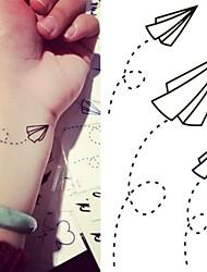 abordables -1 Tatouages Autocollants Autres Non Toxique Bas du Dos ImperméableEnfant Homme Femme Adulte Adolescent Tatouage TemporaireTatouages