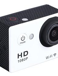 """economico -Aoluguya w9 wifi hd 1080p dv fotocamera impermeabile sport 12MP con 2 """"LTPS lcd lente largo / 140 gradi (colori assortiti)"""