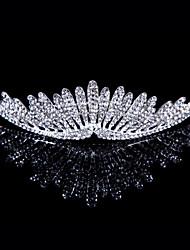 Недорогие -сплав тиары головной убор свадебный вечер элегантный классический женский стиль