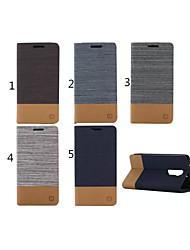 お買い得  -ケース 用途 LG G2 / LG LGケース ウォレット / カードホルダー / スタンド付き フルボディーケース ソリッド ハード PUレザー のために