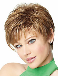 cheap -Europe And The United States Department of The New Light Brown Short Hair Wig