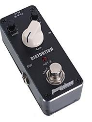 Недорогие -мини искажение эффект педаль аромат ADT-3 искажение AC / DC разъем адаптера верно байпас