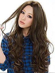 cheap -Synthetic Hair Wigs Loose Wave Curly Natural Wave Costume Wig Long Daily