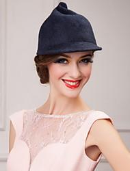 Недорогие -великолепные шерстяные дамы свадьба / партии / открытый сладкий шляпа (больше цветов)
