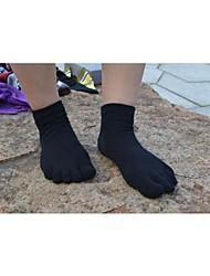 cheap -Women's Toe Socks / Yoga Socks Wearable, Breathable, Anti-skidding / Non-Skid / Antiskid For Ballet / Pilates / Dance - 1 Pair Cotton Spring / Summer / Fall / Stretchy