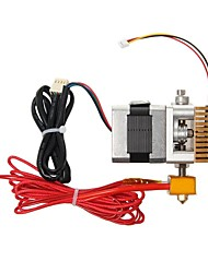 geeetech mk8 celokovové 3D tiskárna extruder s kabelem