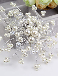 cheap -Crystal Imitation Pearl Hair Combs Flowers 1 Wedding Special Occasion Casual Headpiece