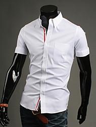 economico -MEN - Camicie casual - Informale Maniche corte Cotone