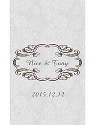 billige -Wedding Invitationer Fladt Kort Personaliseret