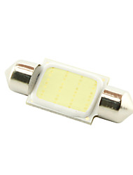 cheap -36mm 3W COB LED 200lm 6000K Cold White Light Dome Festoon Reading Bulb Lamp for Car (DC 12V)