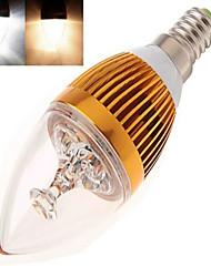 cheap -E14 LED Candle Lights High Power LED 350 lm Warm White Cold White 2800-3500/6000-6500 K AC 85-265 V