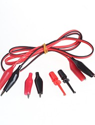 cheap -Headed Alligator Clip Wire Test Line + Test Hook
