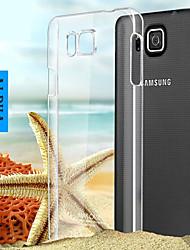 economico -Per Samsung Galaxy Custodia Transparente Custodia Custodia posteriore Custodia Tinta unita PC Samsung Alpha