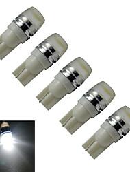 cheap -90 lm T10 Decoration Light 1 leds High Power LED Cold White DC 12V