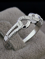 cheap -Genuine 925  Sterling Silver Jewelry Designer 8 Brand Rings Wedding Rings Lady Infinity Rings