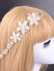 женщин сплава тиары с rhinestone свадьбы / партии головной убор элегантный стиль