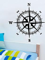 Bande dessinée Forme Stickers muraux Autocollants avion Autocollants muraux décoratifs,Vinyle Décoration d'intérieur Calque Mural For Mur