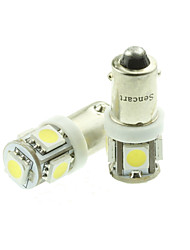 cheap -SO.K 1 Piece H6 / BA×9S Car Light Bulbs 18W SMD 5050 / High Performance LED 70-90lm 5 LED Turn Signal Light For universal