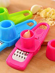 moulin à ail multi-fonction (couleur aléatoire) 1pc, outil de cuisine