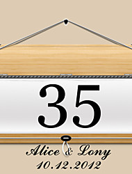 cheap -Personalized Square Table Number Card - Notice (Set of 10)