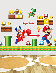 Wall Stickers Wall Decals, Style SUPER MARIO PVC Wall Stickers