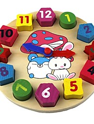 cheap -Baby Toys Geometry Cognitive Clock