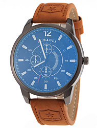 cheap -JUBAOLI Men's Quartz Wrist Watch Dress Watch Hot Sale Leather Band Charm Fashion