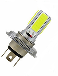 cheap -3.5W 300-350 lm H4 Decoration Light 4LED leds COB Cold White DC 12V
