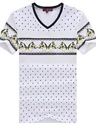 MEN - T-shirt - Informale Rotondo - Maniche corte Cotone organicp