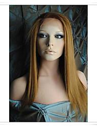 """Недорогие -100% человеческий волос парики шнурка прямые lwg001 фото цвет # 30 Длина 14 """"(необходимо 28 дней, чтобы таможенные марку)"""