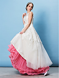 cheap -Wedding Special Occasion Party / Evening Slips Tulle Floor-length A-Line Slip Classic & Timeless with