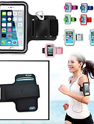 cheap -Case For iPhone 6s Plus iPhone 6 Plus iPhone 6s iPhone 6 Universal with Windows Armband Armband Solid Color Soft Textile for
