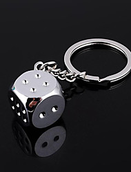 cheap -Unisex Fashion Alloy Key Chain Dice Key Chain
