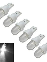 t10 luz de decoração 1 30-50lm branco frio 6000-6500k dc 12v