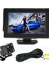 RenEPai® 4.3 Inch Monitor + 170°HD Car Rear View Camera +  High-Definition Wide Angle Waterproof CMOS Camera