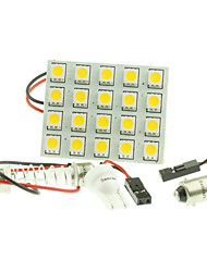 cheap -T10 Car Light Bulbs 4W W SMD 5050 200-240lm lm 20 LED Turn Signal Light Foruniversal