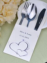 baratos -jogos de serviço do bolo de casamento de faca fontes personalizadas sacos conjunto de 10 ---- alma gêmea