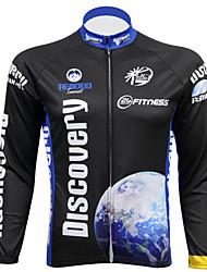 preiswerte -Realtoo Herrn Langarm Fahrradtrikot Fahhrad Trikot/Radtrikot, UV-resistant, Atmungsaktiv