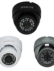 ™ 960p hosafe sicurezza 1.3MP metallo impermeabile telecamera dome IP con 24 IR LED