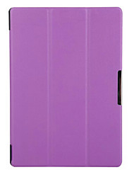 10.1 pollici cuoio dell'unità di elaborazione tripla modello pieghevole di alta qualità per la linguetta lenovo 2 a10 a10-70 (colori