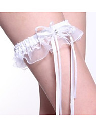 Delicate Bride Bud Silk Stockings Bow Legs Ring