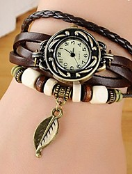 cheap -Unisex Charm/Chain Bracelet Leather/Titanium Classical Feminine Style