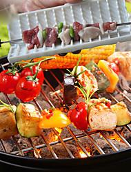 Skewers Making Box BBQ Satay Lamp Kebab Maker