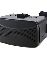 baratos -Cases de Óculos Plástico Transparente VR Virtual Reality Glasses Aviador