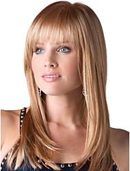 breve rettilineo di alta qualità senza cappuccio mono capelli umani top naturali parrucche sette colori tra cui scegliere